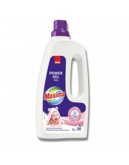 Гел за пране Sano Maxima Baby, 1 л, 20 пранета