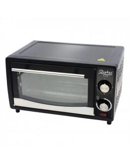 Малка готварска фурна ZEPHYR ZP 1441 R, 1200W, 12 л, Таймер, Тавичка, Черна