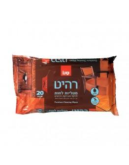 Мокри кърпи за мебели Sano, 20 броя