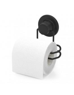 Поставка за тоалетна хартия TEKNO TEL TR DM 271B, 13х9 см, Вакуум, Черен