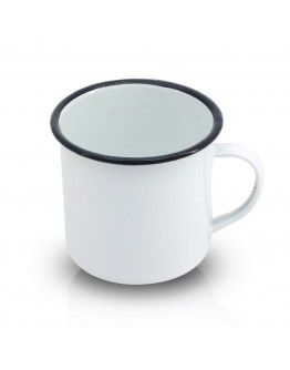 Канче SAPIR SP 4524 A10, 0.65 литра, Емайл, Бял