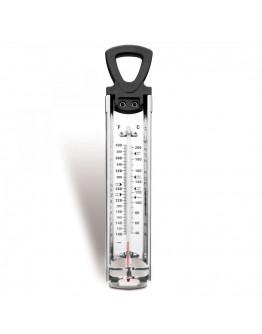Сладкарски термометър IBILI IB 776700, 31.5 cm, от + 20ºC до + 200ºC, Без живак, Стъклен