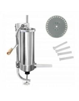 Уред за пълнене на колбаси Zilner ZL 3900, 2 кг, Стомана