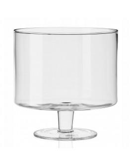 Десертна купа на столче Krosno Glamour FPA1558019508010, 19.5х20 см, Кристалин
