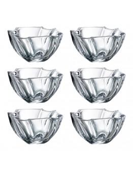 Комплект купички Bohemia Neptune Bowl Set, 6 бр, 13 см, Кристалит