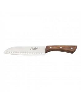 Нож Сантоку ZEPHYR ZP 1633 BS, Дървена дръжка