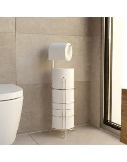 Поставка за тоалетна хартия TEKNO TEL MG 093, 4 ролки, 18х55 см, Хром