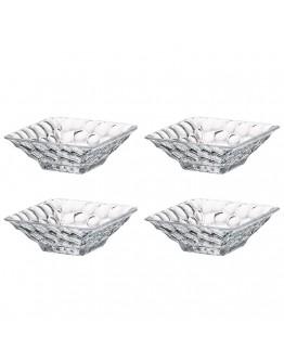 Комплект купички Bohemia Marble Bowl, 4 бр, 11 см, Кристалит