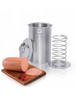 Шунковар за домашна шунка Zilner ZL 3909, 1.5 литра, Термометър, Стомана