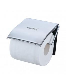 Поставка за тоалетна хартия с капак Klausberg KB 7087, Инокс