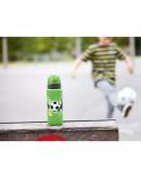 Термос Tefal Football Tef1 K3192212, 600 мл, Неръждаема стомана, Отваряне с бутон, Зелен