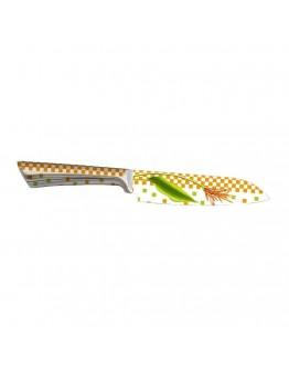 Кухненски нож ZEPHYR ZP 1633 NCF6, 15 см, Неръждаема стомана, Цветна щампа