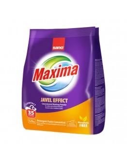 Прах за пране Sano Maxima Javel Effect, Концентрат, 1.25 кг, 35 пранета