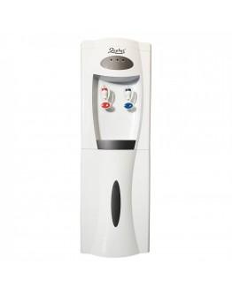 Диспенсър за вода с компресор ZEPHYR ZP 1449 ACB, 500W Загряване, 120W Охлаждане, Шкаф за съхранение, Бял
