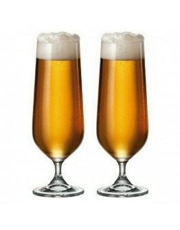 Комплект чаши за бира Bohemia Strix Beer, 6 бр, 380 мл, Кристалит
