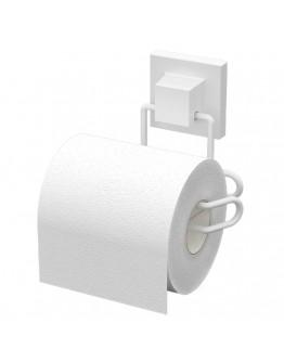 Поставка за тоалетна хартия TEKNO TEL TR EF 271W, 13х9х13 см, Двойно залепване, Бял