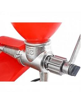 Ръчна машина за доматен сок Zilner ZL 5211, Чугун, Червен