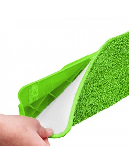 Резервна микрофибърна кърпа за подочистачка спрей SP 1120 SMA/SMB, Зелен