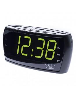 Цифров радиочасовник Adler AD 1121, Аларма, Таймер, Черен