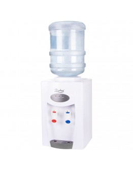 Настолен диспенсър за вода с компресорно охлаждане ZEPHYR ZP 1449 ACS, Загряване: 500W, Охлаждане: 120W, Бял