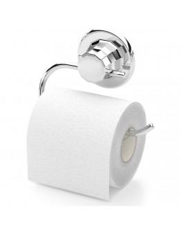 Поставка за тоалетна хартия TEKNO TEL TR DM 239, 15х5х12 см, Вакуум, Хром
