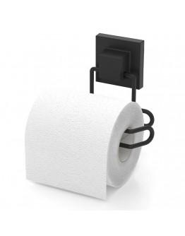 Поставка за тоалетна хартия TEKNO TEL TR EF 271B, 13х9х13 см, Двойно залепване, Черен