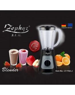 Блендер ZEPHYR ZP 1162 J, 600W, 1.5 литра, 2 скорости + Импулс, Черен