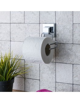 Поставка за тоалетна хартия TEKNO TEL TR EF 271, 13х9х13 см, Двойно залепване, Хром