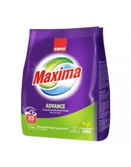 Прах за пране Sano Maxima Advance, Концентрат, 1.25 кг, 35 пранета