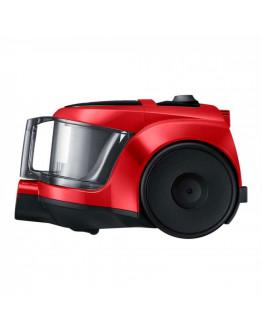 Прахосмукачка без торба Samsung VCC45T0S3R/BOL, HEPA филтър, 850W, 1.3 литра, Приставки, Червен
