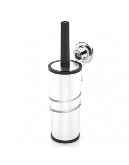Комплект четка за тоалетна и държач TEKNO TEL DM 094, 10х15х38 см, Вакуум, Хром