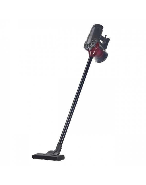 Вертикална и ръчна прахосмукачка 2в1 SAPIR SP 1001 F, 600W, 0.8 литра, Циклон, Без торба, Сив/червен