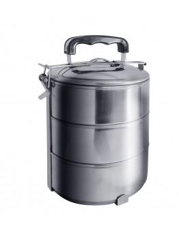 Котелка за храна - метална - 3 части EK-GG3