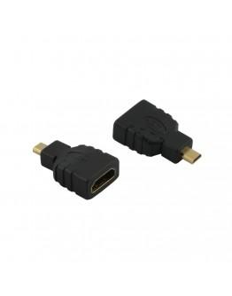 Адаптер Diva HDMI/f – Micro HDMI/m