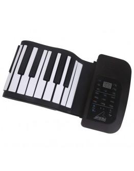 Дигитално силиконово пиано Diva, 61 клавиша