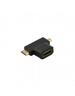 Адаптер Diva HDMI/f – Micro/Mini HDMI/m