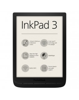 eBook четец PocketBook inkPad 3, Черен