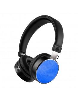 Стерео слушалки Xmart 05R, Bluetooth 4.2, Кабел, Сини