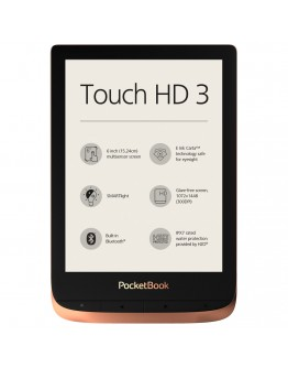 eBook четец PocketBook Touch HD 3, Spicy Copper