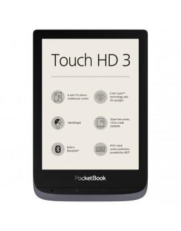 eBook четец PocketBook Touch HD 3, Metallic Grey