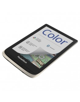 eBook четец PocketBook PB633 Color, цветен дисплей E Ink Kaleido™, Moon Silver