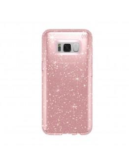 Протектор Speck Presidio за Samsung Galaxy S8, Clear Gold Glitter/Rose Pink