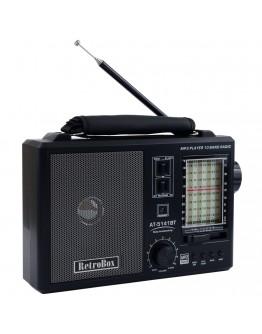 Радио с ретро дизайн Diva Retrobox, Bluetooth
