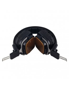 Стерео слушалки Xmart 06S, Bluetooth 4.2, Кабел, Златисти