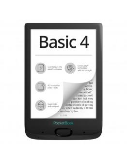 eBook четец PocketBook Basic 4, E Ink Carta, 212 DPI, Черен