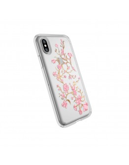 Протектор Speck Presidio iPhone X Golden Blossoms Pink/Clear