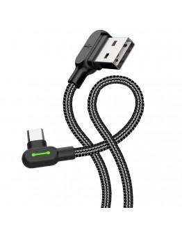 USB Type-C кабел Xmart Gaming, 1.2м, Черен