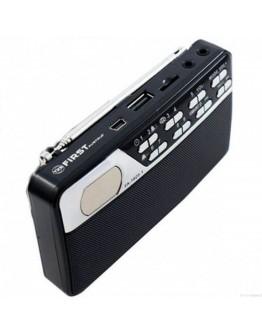 ПРЕНОСИМО РАДИО FM/MP3-USB-TF/AUX IN FIRST FA-1925-1-BA